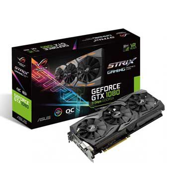 8GB ASUS ROG-STRIX-GTX1080-A8G-11GBPS