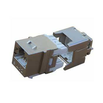 Đầu mạng âm tường DINTEK Module Jack Cat.6 chống nhiễu 1305-04006