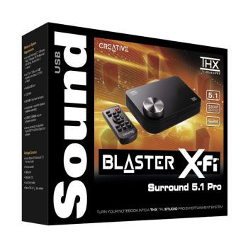 Sound card CREATIVE SB X-Fi Surround 5.1 Pro