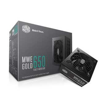 650W Cooler Master MWE GOLD 650 Fully modula