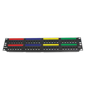 Patch Panel DINTEK Cat.6A UTP 1U 24P 19inch Snap-In 1406-00011