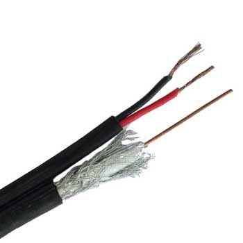 CABLE Đồng trục kèm đôi dây nguồn APTEK RG6 305m