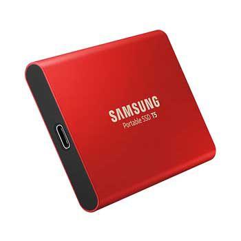 1TB Samsung T5 Portable - (MU-PA1T0R - MÀU ĐỎ ) - EXTERNAL