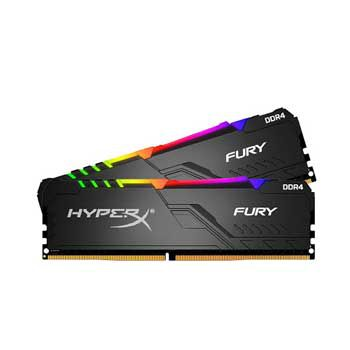 16GB DDRAM 4 3200 KINGSTON HyperX Fury RGB (KIT)