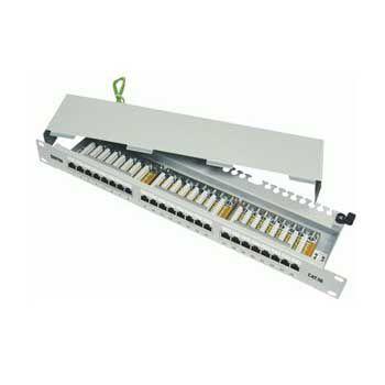 Patch Panel DINTEK Cat.5e FTP 1U 24P 19inch chống nhiễu 1402-03012