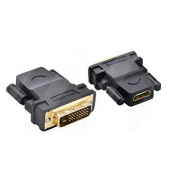 Đầu đổi DVI (24+1) KIm -> HDMI (Lỗ ) UGREEN 20124