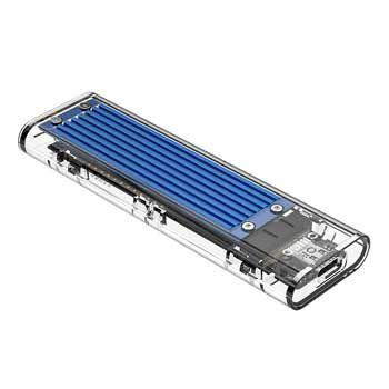 Hộp ổ cứng ORICO TCM2-C3 Màu Bạc (NVMe M.2 SSD Tốc độ 10Gbps )