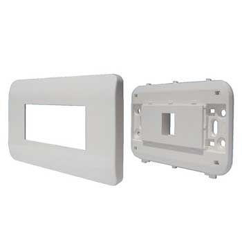 Mặt nạ mạng 1 Port US Style Desinger DINTEK CurvaPlate 1303-11030