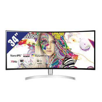 """LCD 34"""" LG 34WK95C-W.ATV (Màn hình cong)"""