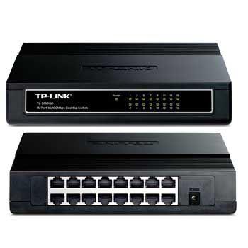 16 PORT TP-LINK TL-SF1016D
