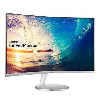 """LCD 27"""" SAMSUNG LC27F397FHEXXV (Màu trắng-Full Viền)"""