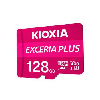 MICRO- SDXC 128GB Kioxia Exceria Plus UHS-I C10-LMPL1M128GG2