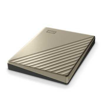 2TB WESTERN Passport Ultra - WDBC3C0020BGD ( Màu Gold)