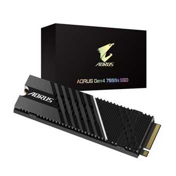 2TB Gigabyte AORUS Heatsink M.2-2280 PCIe NVMe Gen 4x4 ( GP-AG70S2TB)